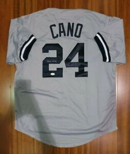 Robinson Cano Autographed Signed Jersey New York Yankees JSA