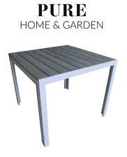 Gartentisch Bistrotisch Alutisch Gartenmöbel Alu Tisch MARS 70x70cm wetterfest