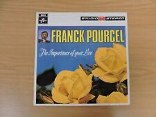 """Franck Pourcel, The importance of your love, vinyl 12"""" AL V10-19"""