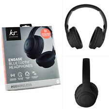 Genuine KitSound Engage Noise Cancelling On-Earphone Bluetooth WiFi Headphones