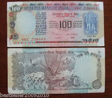 OLD 100 RUPEE AGRICULTURE ISSUE UNC SIGN C RANGARAJAN # 234