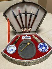 Chinese Calligraphy Set #08-785 Writing Brush Pen Ink Painting Sumo Art Box Set