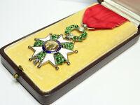 Ordre de la LEGION d'HONNEUR / Chevalier / IV Republique //ARGENT / A031