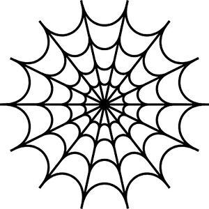 Full Spider Web Cobweb Vinyl Decal Sticker for Car/Window/Wall