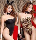 Sexy 5 Pièces Bunny Girl Lapin Nounours Déguisement,Nuit Costume De Fête