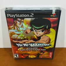 Yu Yu Hakusho Dark Tournament (PS2) RARE. Brand New Sealed!