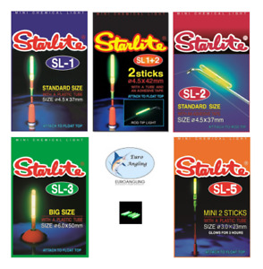 Starlite Glow Sticks for Rod Tips & Floats - All Sizes