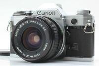 NEAR MINT Canon AE-1 35mm SLR Film Camera w/ FD 28mm f/2.8 S.C. from JAPAN #103
