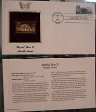 WW II Manila Freed 22 kt Gold Stamp replica First Day of Issue 9/2/1995