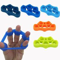 2 pcs Doigt Stretch Grip Force Finger Trainer Poignet Exercice Exerciseur Main