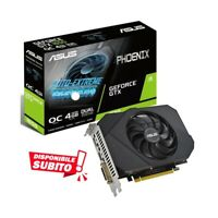 SCHEDA VIDEO GAMING ASUS NVIDIA GEFORCE GTX 1650 4GB GDDR6 OC GTX1650.