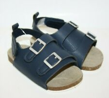 Carter's Cork Sandal Baby Shoes Blue Navy Size 9-12 months size 4 New NWT