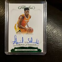 2019-20 Flawless Admiral Schofield Emerald 5/5 One Of One