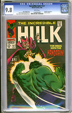 Incredible Hulk #107 CGC NM/MT 9.8 Mandarin Highest Certified Grade