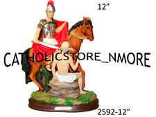 "San Martin Caballero/Saint Martin Caballero 12"" Inch -Statue - 2592-12"