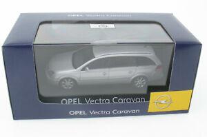 SCHUCO - OPEL Vectra C Caravan - silber metallic - Kombi - 1:43 Neu Model Car