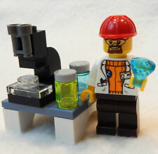 NEW LEGO SCIENTIST LAB SET  minifig minifigure figure science stem walter white