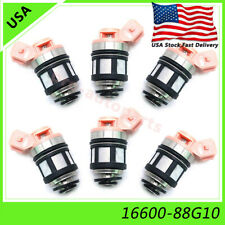 6x Fuel Injector Nozzle 16600-88G10 JS20-1 For Nissan D21 Pathfinder Quest 3.0L