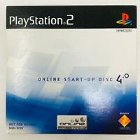 PS2 Online Start-Up Disc v 4.0 - Sony PlayStation 2 - Fast Shipping