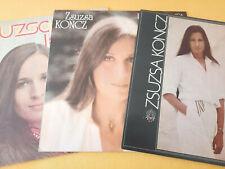 Zsuzsa Koncz 3 LP Amiga 8 55 271/ 758 / 975 Red / Blue Label 1974 / 80 / 82
