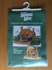 Lilliput Lane Anchor Counted Cross Stitch Kit LL08 Marigold Meadow 20 x 27cm