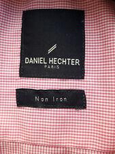 Daniel Hechter Herren Hemd Langarm Rot-Weiß kariert Größe 41