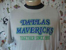 Dallas Mavericks T Shirt XL vintage NBA Throwback