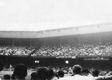 Vtg 1947 Briggs Stadium (Tiger Stadium) Detroit Michigan Black & White Photo