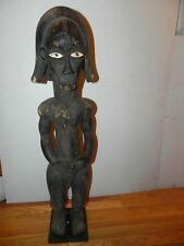 "Arts of Africa - Fang Figure - Gabon - 36 Height  x 7"" Wide  x 7"" Long"