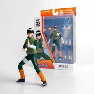 """NARUTO Rock Lee BST AXN 5"""" Loyal Subject Action Figure NEW 