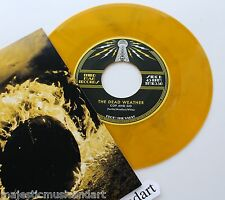 "THE DEAD WEATHER COP AND GO 7"" MARBLE VINYL VAULT EXCLUSIVE JACK WHITE STRIPES"