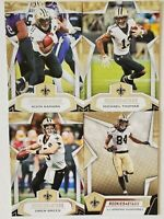 2019 Panini Rookies and Stars New Orleans Saints Team Set 4 Card Lot with RC