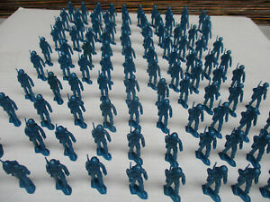 MPC Marching Toy Soldier Lot Multiple Toymakers Standing at Attention 2 Inch WW2