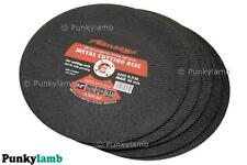 "5 x 350mm (14"" inch ) Metal Cutting Discs Blades Grinder Cut Off Machine New"