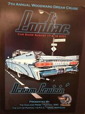 2001 Woodward Dream Cruise Poster