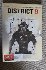 DISTRICT 9 RARE DELETED DVD NEILL BLOMKAMP SCIENCE FICTION FILM STEELBOOK CASE