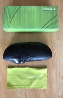 New Koali Hard Clam Shell Case w/ Cloth for Glasses Sunglasses