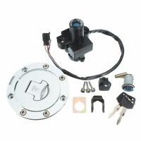 Ignition Switch Fuel Gas Cap Cover Seat Lock Set For Honda CBR900 CBR250 RVF400