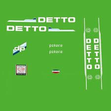 Detto Pietro Polare Bicycle Decals, Transfers, Stickers n.100