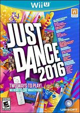 NINTENDO WII U VIDEO GAME JUST DANCE 2016 BRAND NEW AND SEALED