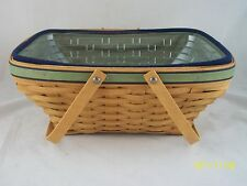 Longaberger 2003 Large Leadership Excellence Basket Combo Very Rare