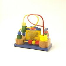 Bead Maze Melissa and Doug Baby Toy Wood with Suction Base for 12m+ NEW