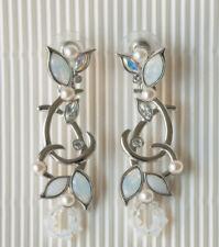 NWT Genuine Swarovski Everlasting Bridal Earrings ~ Item # 933107 -