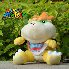 """Lovely Baby Bowser Koopa 6"""" Super Mario Bros Plush Stuffed Toy Doll Child Gift"""