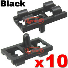BMW X5 E53 LOWER DOOR WEATHERSTRIP RUBBER SEAL CLIPS FRONT REAR - BLACK
