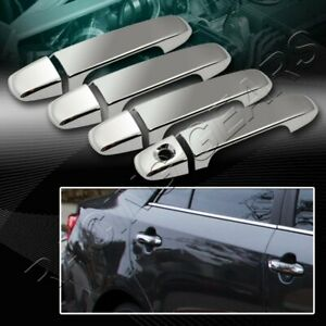 FOR TOYOTA CAMRY LE SE XLE MIRROR CHROME DOOR HANDLE COVER COVERS CAP TRIM 8-PCS