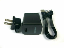 Samsung Galaxy Tab 2 7.0 7.7 8.9 10.1 Note Tablet OEM USB Cable Wall Charger