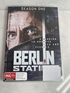 Berlin Station First Season One 1 DVD Region 4