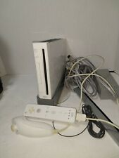 White Tested Nintendo Wii Console RVL-001 Gamecube games compatible