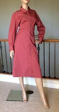 UNIQLO U LEMAIRE WOMEN PINK SHIRT LONG-SLEEVE DRESS SIZE M NWT